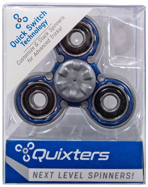 Quixters Blue Basic Spinner [Gray Outside]