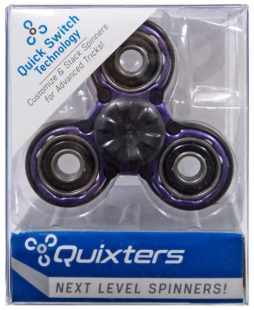 Quixters Purple Basic Spinner [Black Outside]