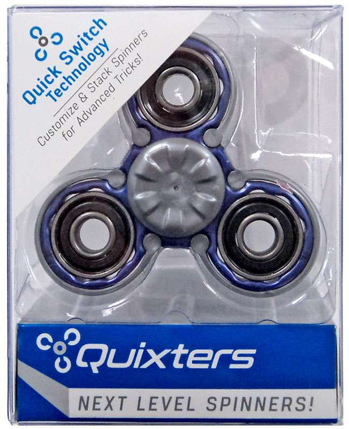 Quixters Purple Basic Spinner [Gray Outside]