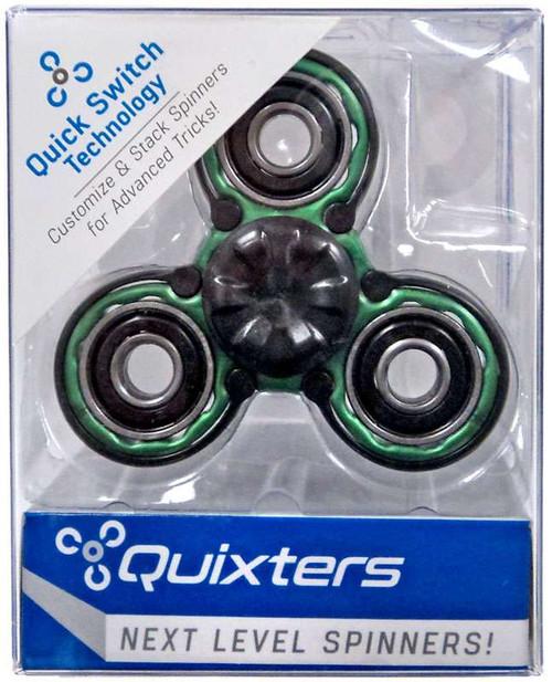 Quixters Green Basic Spinner [Black Outside]