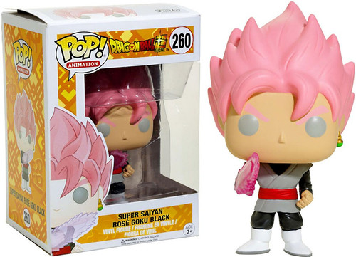Funko Dragon Ball Super POP! Animation Super Saiyan Rose Goku Black Exclusive Vinyl Figure #260