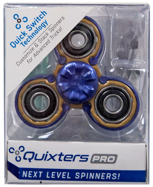 Quixters Gold Pro Spinner [Purple Outside]