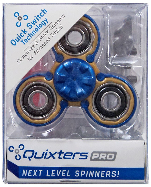 Quixters Gold Pro Spinner [Blue Outside]