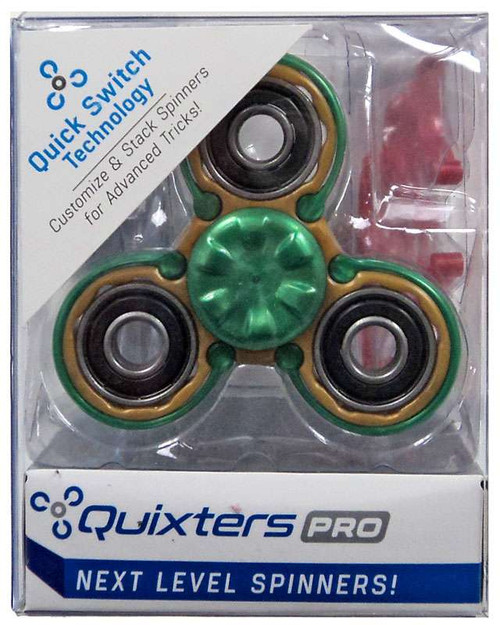 Quixters Gold Pro Spinner [Green Outside]