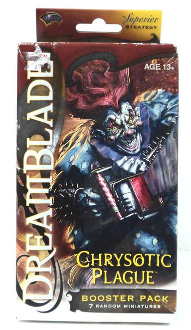 Dreamblade Miniature Game Anvilborn Chrysotic Plage Booster Pack