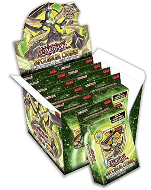 YuGiOh Trading Card Game Maximum Crisis Special Edition DISPLAY Box [10 Units]