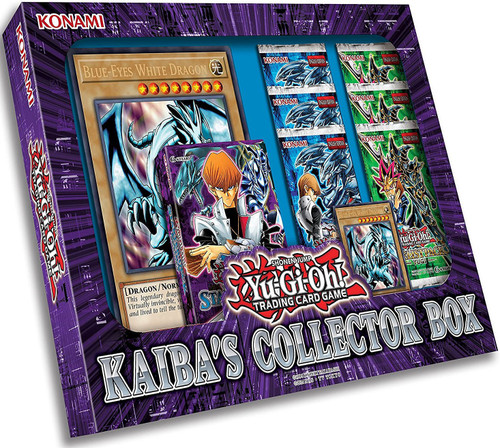 YuGiOh Trading Card Game Kaiba's Collector Box Set [6 Booster Packs, Starter Deck, Promo Card & Oversize Card!]