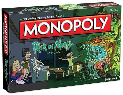 Rick & Morty Monopoly Board Game