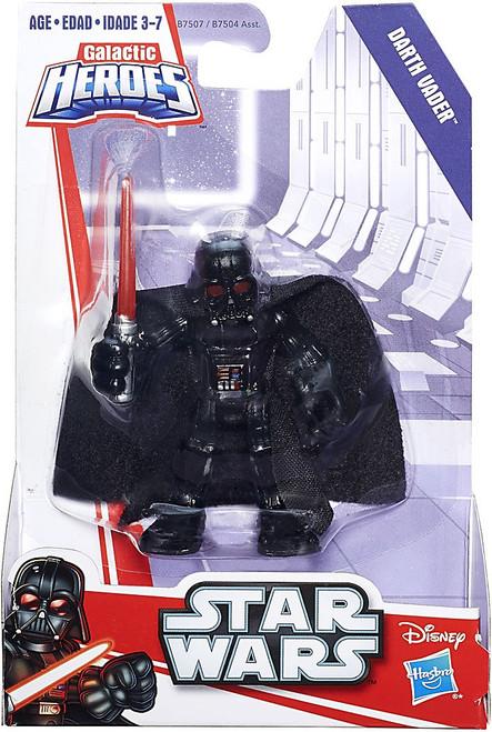 Star Wars Galactic Heroes Darth Vader Mini Figure [No Droid]