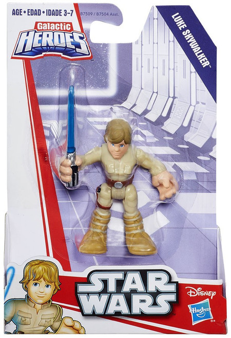 Star Wars Galactic Heroes Luke Skywalker Mini Figure [Bespin]