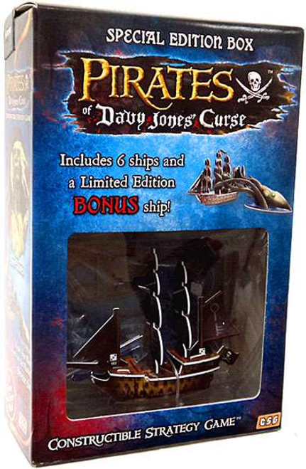 Constructible Strategy Game Pirates of Davy Jones' Curse Special Edition Box