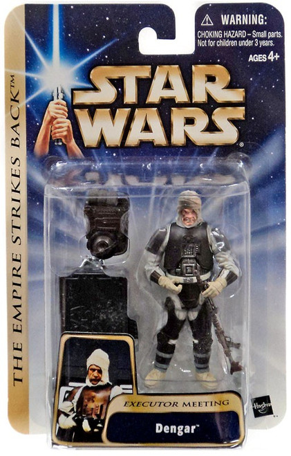 Star Wars The Empire Strikes Back Dengar Action Figure #17 [Executor Meeting]