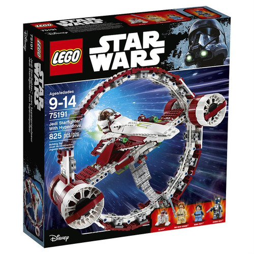 LEGO Star Wars Jedi Starfighter with Hyperdrive Exclusive Set #75191