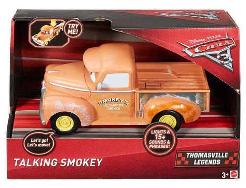 Disney / Pixar Cars Cars 3 Racing Series Smokey Talking Vehicle [Lights & Sounds!]