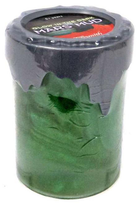 Mars Mud Glow in the Dark Green Slime