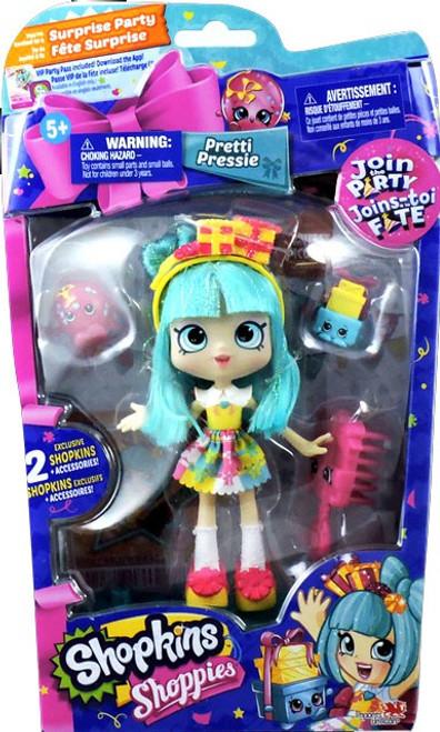 Shopkins Shoppies Join the Party Pretti Pressie Doll Figure