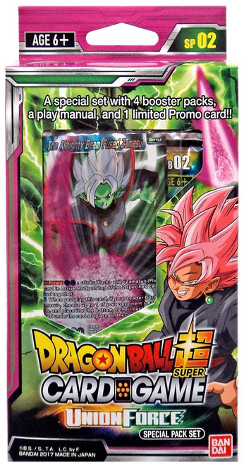 Dragon Ball Super Collectible Card Game Union Force Series 2 Special Pack