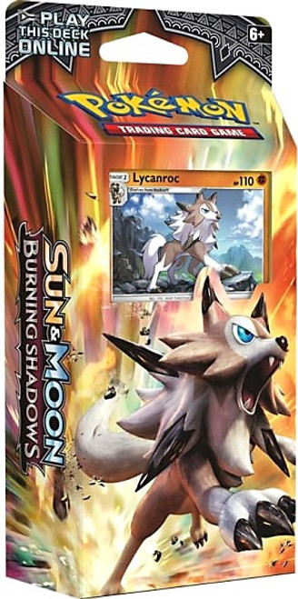 Pokemon Trading Card Game Sun & Moon Burning Shadows Rock Steady Theme Deck [Lycanroc]