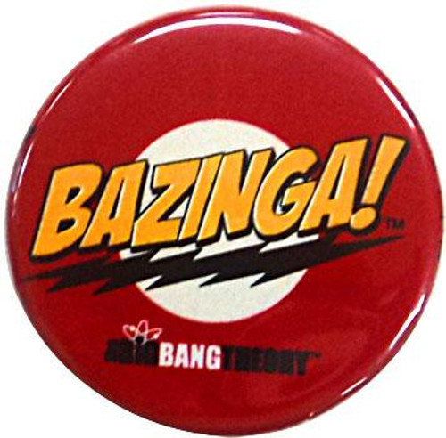 Funko The Big Bang Theory Bazinga! Logo Pin [Red]