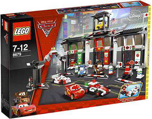 LEGO Disney / Pixar Cars Cars 2 Tokyo International Circuit Exclusive Set #8679 [Damaged Package]