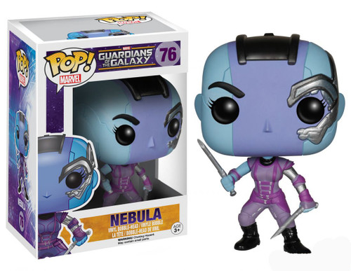 Funko Guardians of the Galaxy POP! Marvel Nebula Vinyl Bobble Head #76 [Damaged Package]
