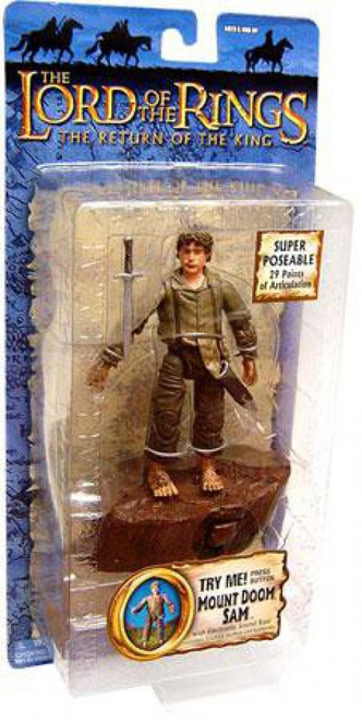 The Lord of the Rings The Return of the King Collectors Series Samwise Gamgee Action Figure [Mount Doom]