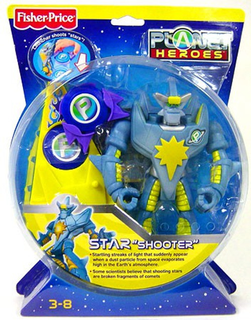 Fisher Price Planet Heroes Star Shooter Action Figure