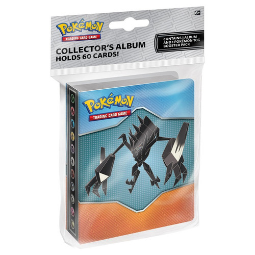 Nintendo Pokemon Tradeable Miniatures Game Sun & Moon Burning Shadows Mini Portfolio [Includes Booster Pack, Holds 60 Cards]