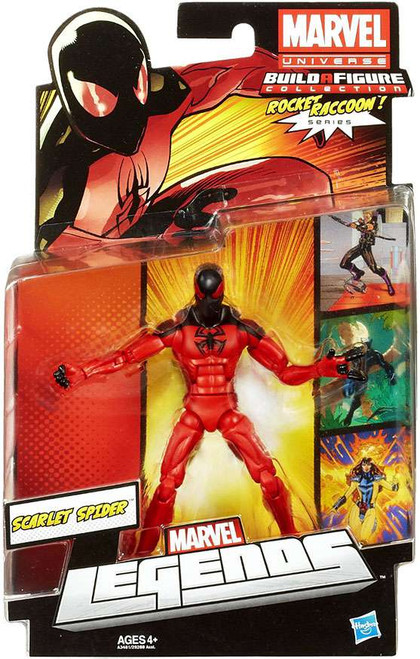 Marvel Legends 2013 Rocket Raccoon Series 2 Scarlet Spider Action Figure [Damaged Package]