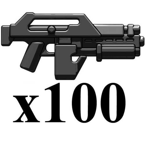 BrickArms Lot of 100 M41A V2 2.5-Inch [Black]