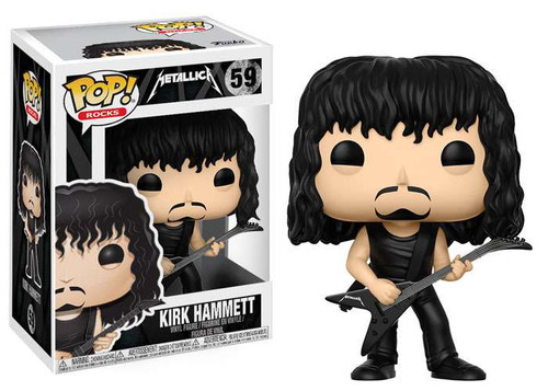 Funko Metallica POP! Rocks Kirk Hammett Vinyl Figure #59