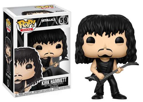 Funko Metallica POP! Rocks Kirk Hammett Vinyl Figure #59