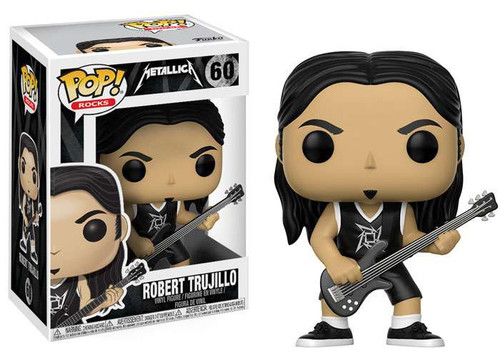 Funko Metallica POP! Rocks Robert Trujillo Vinyl Figure #60