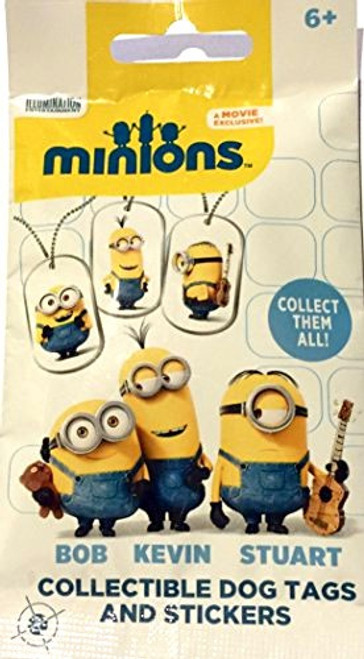 Minions Dog Tags Mystery Pack