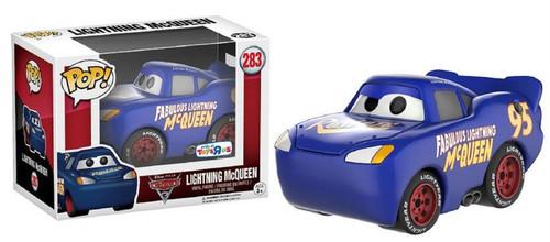 Funko Cars 3 POP! Disney Lightning McQueen Exclusive Vinyl Figure #283 [Blue, Cars 3]