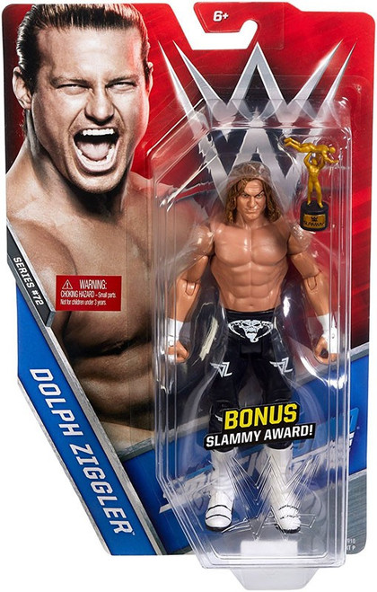 WWE Wrestling Series 72 Dolph Ziggler Action Figure [Bonus Slammy Award]