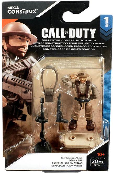 Call of Duty Specialists Series 1 Mine Specialist Mini Figure