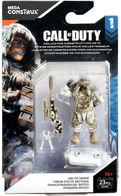 Call of Duty Specialists Series 1 Arctic Sniper Mini Figure