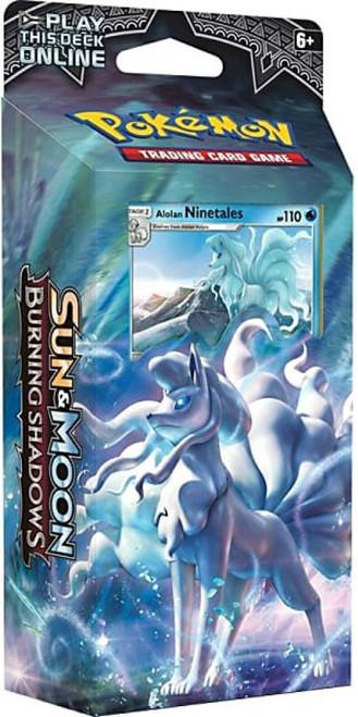 Pokemon Trading Card Game Sun & Moon Burning Shadows Luminous Frost Theme Deck [Alolan Ninetales]