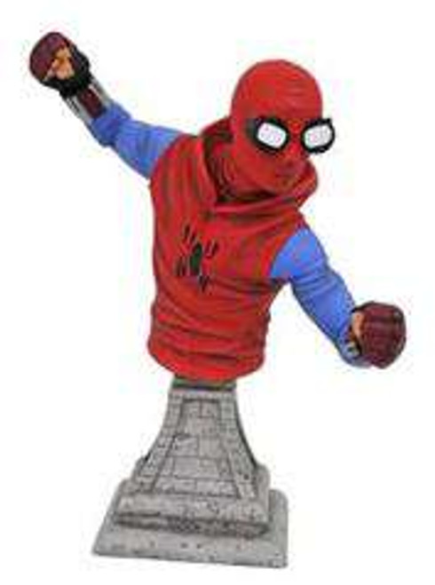 Marvel Spider-Man: Homecoming Spider-Man Homecoming 6-Inch Bust [Homemade Suit]
