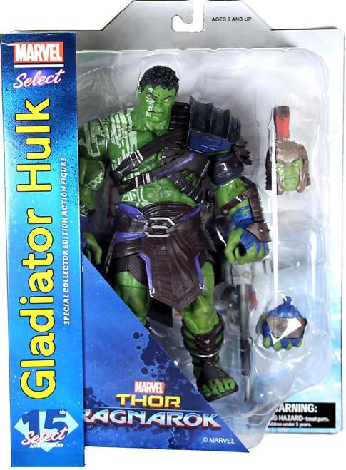 Thor Ragnarok Marvel Select Gladiator Hulk Action Figure