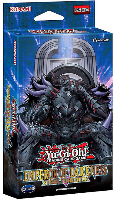 YuGiOh Trading Card Game The Emperor of Darkness Structure Deck