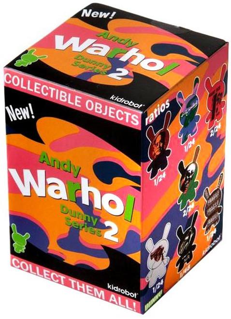 Andy Warhol Vinyl Mini Object Figure Dunny Series 2 3-Inch Mystery Pack [1 RANDOM Figure]