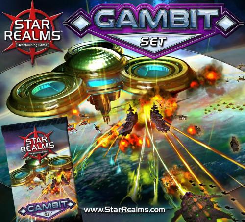 Star Realms Gambit Set Deckbuilding Game Mini Expansion