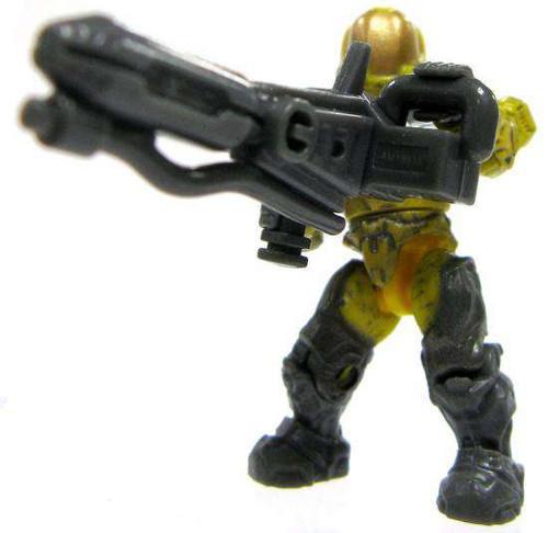 Mega Bloks Halo Flame Marine Minifigure [Yellow Loose]