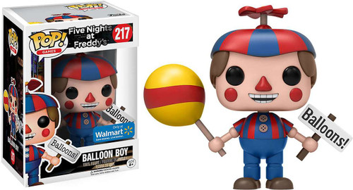 Funko Five Nights at Freddy's POP! Games Balloon Boy Exclusive Vinyl Figure #217