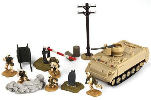 Forces of Valor Bravo Team Vehicles U.S. M113A3 Armored Personnel Carrier with Soldiers