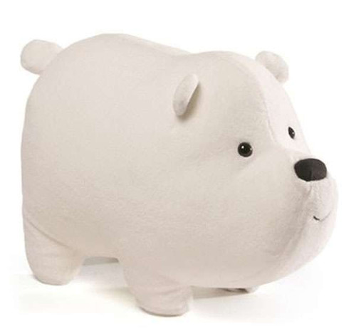We Bare Bears Ice Bear 12-Inch Plush [All Fours]