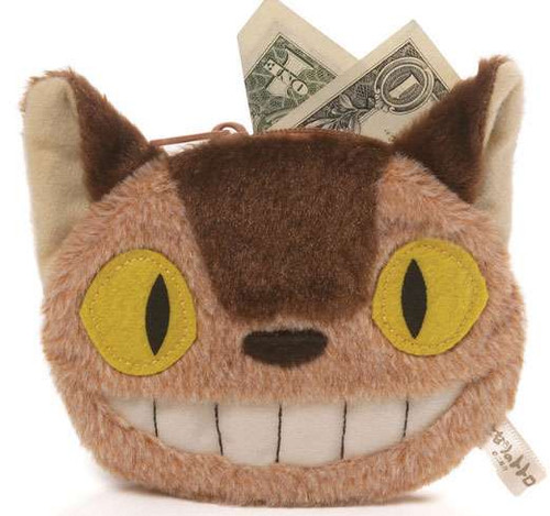 Studio Ghibli Totoro Cat Bus Coin Purse