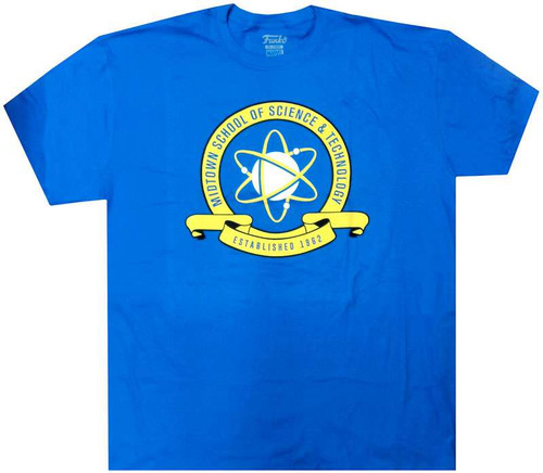 Funko Marvel Collector Corps Midtown School of Science & Technology T-Shirt [2X-Large]